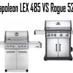 Napoleon LEX 485 vs Rogue 525