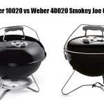 Weber 10020 vs Weber 40020 Smokey Joe Grill