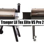 Traeger Lil Tex Elite Vs Pro 22
